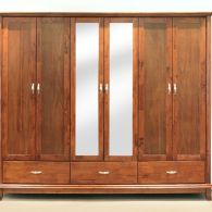 Freestanding Oak Wardrobe
