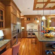 Large Mahogany Kitchen